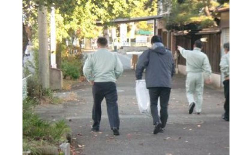 月曜日は地域清掃の日 by有田