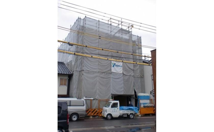 岐阜の注文住宅 本日の現場 vol.23 ~鉄骨・外断熱・3階建て~