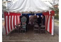 二世帯住宅 K様・M様邸新築工事の地鎮祭を執り行いました。