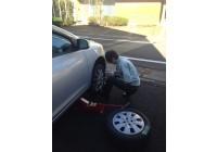タイヤ交換しました!