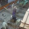 カーサキューブのコンクリート打設を行いました。