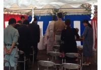 平成24年9月16日 岐阜市内にて K様・M様邸新築工事の地鎮祭を執り行いました。