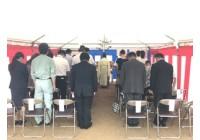岐阜市内にてサービス付き高齢者住宅の地鎮祭を執り行いました。