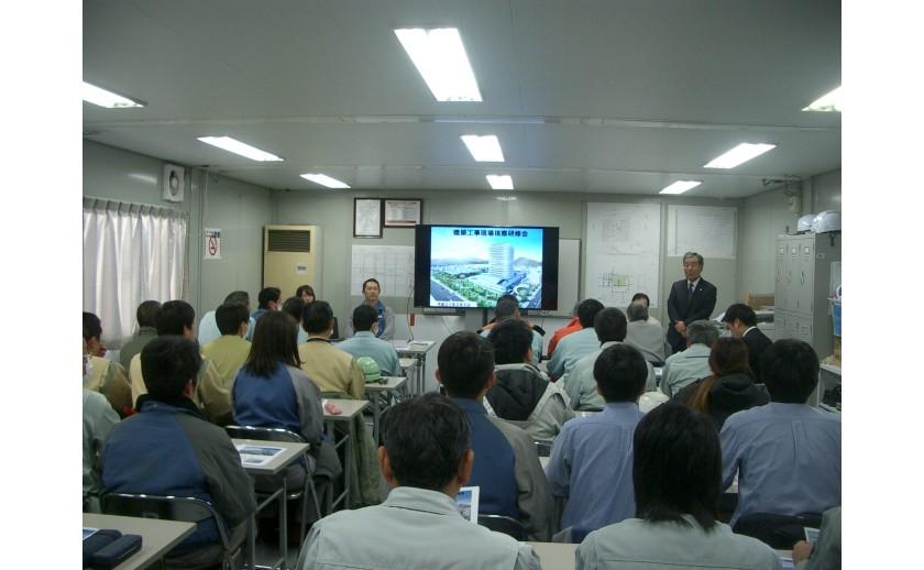 岐阜市新庁舎 現場視察研修会に参加しました!